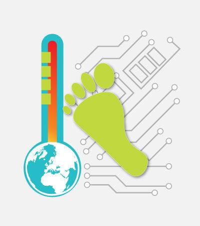 Digitaler CO2-Fußabdruck